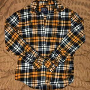 American Eagle Outfitters Shirts - 2pc lot mens thermal flannel long sleeve shirts
